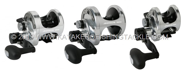 Okuma-ANDROS-lever-drag-reels-SA-series-two-speed