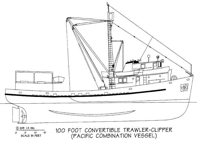 Barca da pesca Pacifico