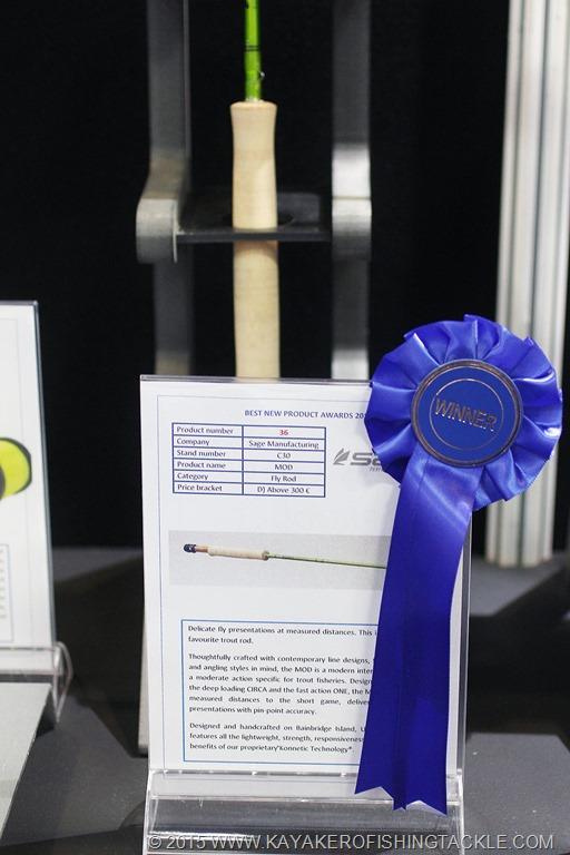 Efttex 2015 Varsavia Best Product Award
