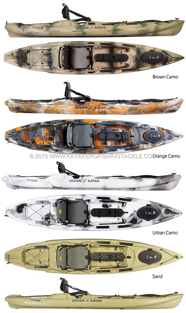 Ocean Kayak Prowler Big Game II colori 2015