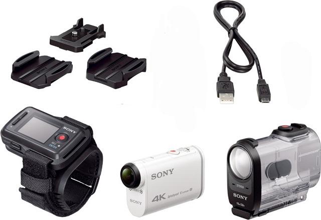 SONY-FDR-1000V-accessori-in-dotazione