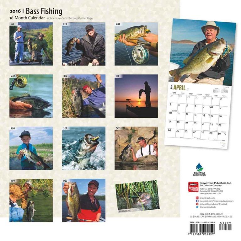 Fishing calendar 2016 for Fishing videos 2016