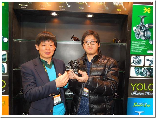 Andy Chen e Jacky Fan premiati a Cina Fish