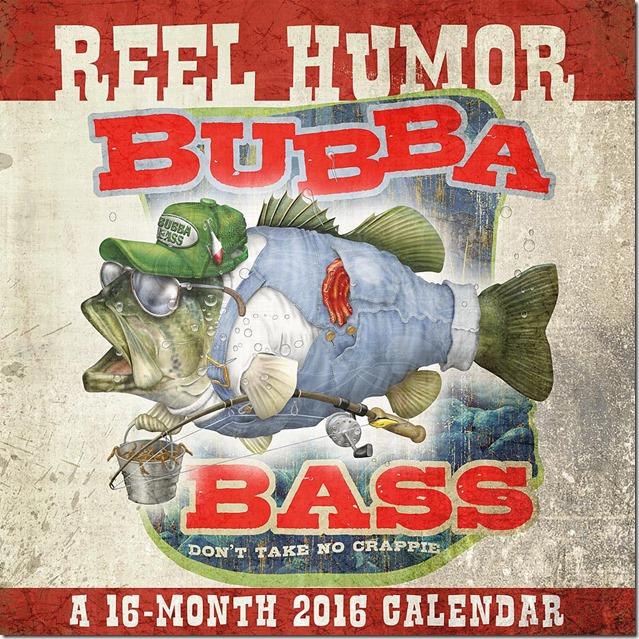 Reel Bubba calendar