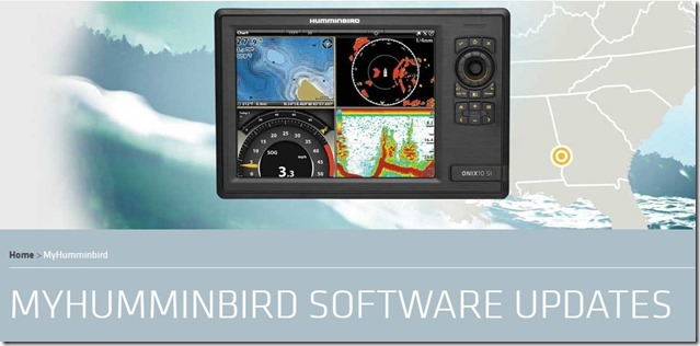 Humminbird-software-page