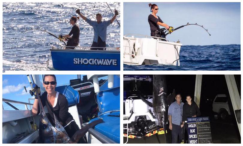 IGFA  record  swordfish women class