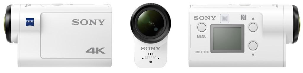 SONY FDR-X3000R 4K