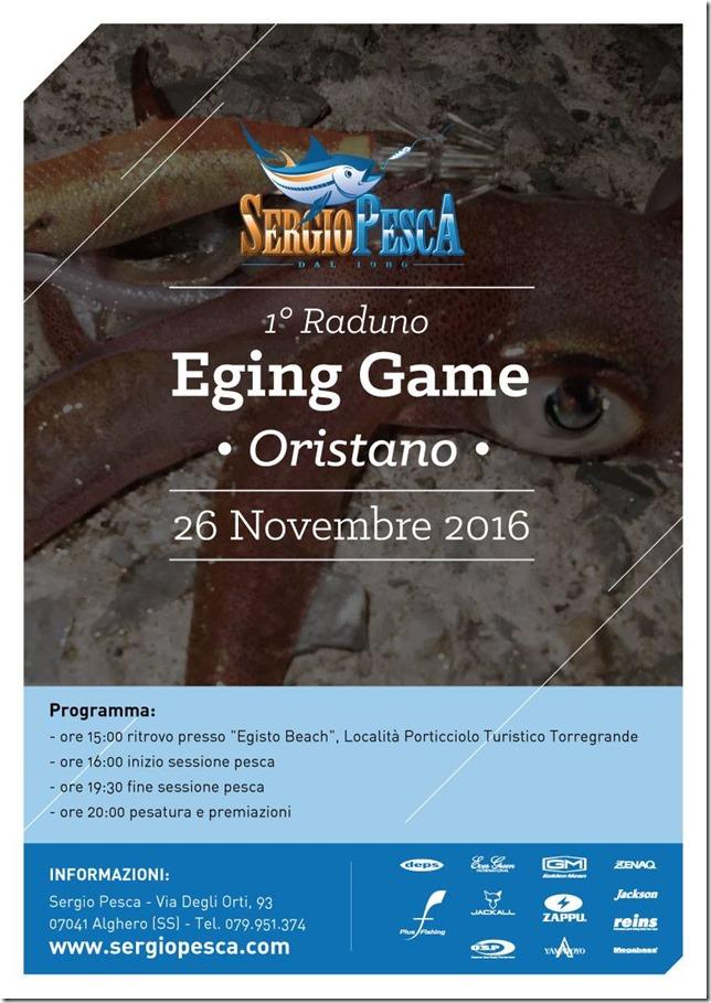 Eging Game Oristano