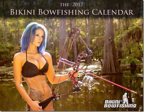 Bikini Bowfishing Calendar 2017