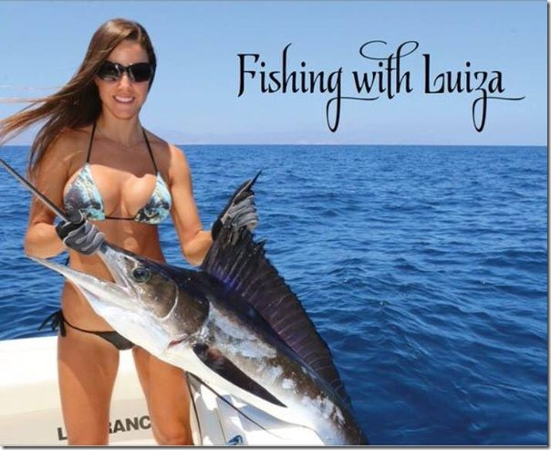 Fishing With Luiza calendar 2017 cover