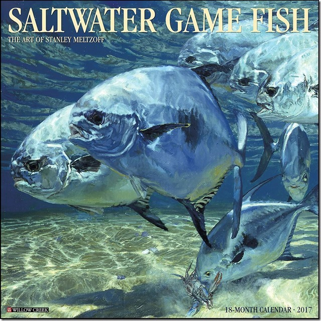 Saltwater-Fish-Wall-Calendar