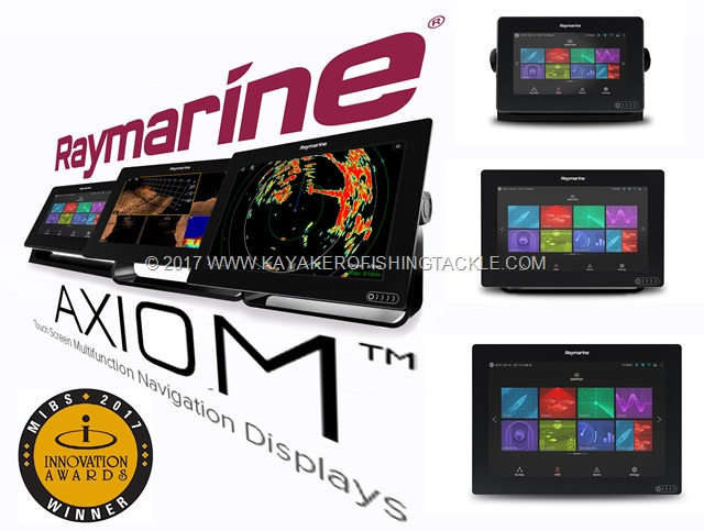 New  Axiom™ Raymarine Multifunction Displays