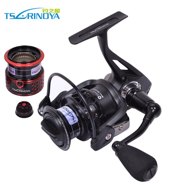 Trulinoya-Full-Metal-Fishing-Reel-12BB-5-2-1-Spinning-Reel-Free-Spare-font-b-Spool