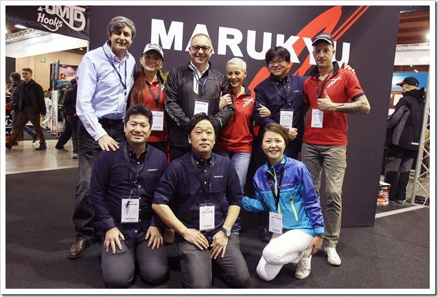 PESCARE SHOW 2017 - Marukyu stand