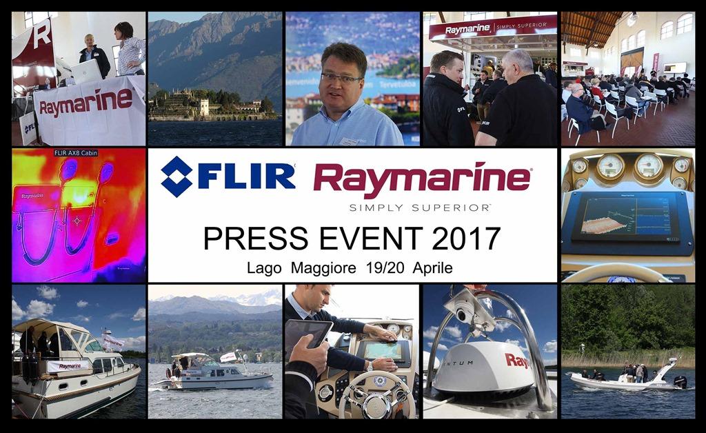 FLIR RAYMARINE Press Event 2017