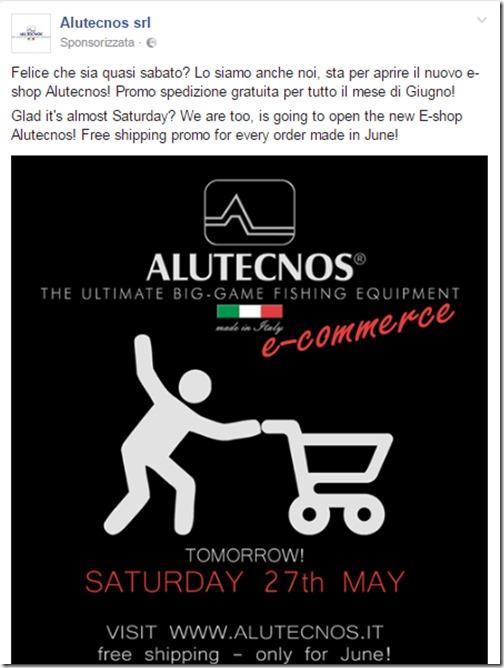 Alutecnos annuncio e shop FB