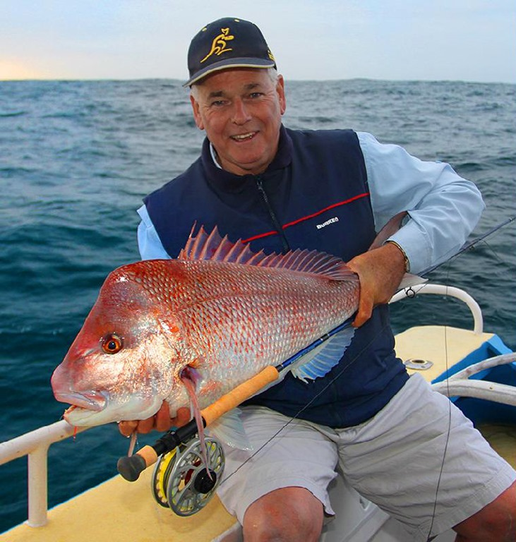 Snapper a fly fishing
