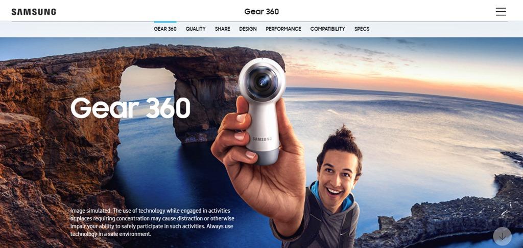 """Samsung e l' """"irrealtà virtuale""""…"""