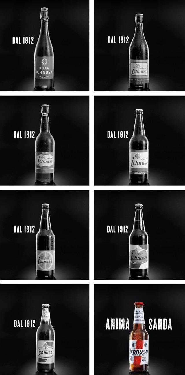 ICHNUSA-le-bottiglie-dal-1912