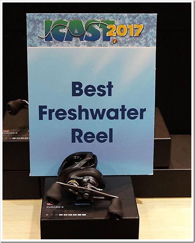ICAST Orlando 2017 Best Freshwater reel Shimano Curado K