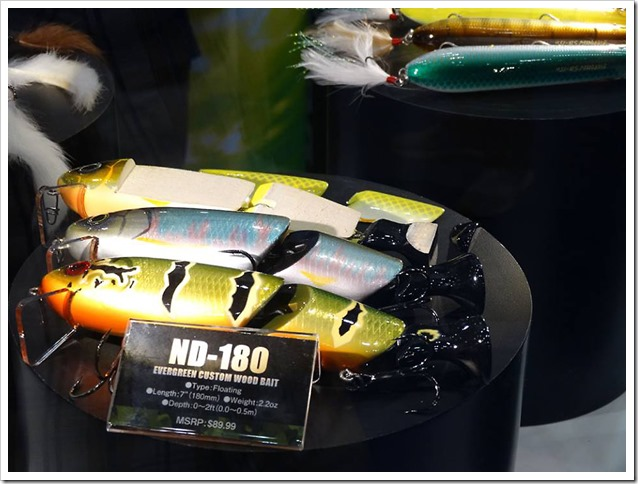 ICAST Orlando 2017 Evergreen ND 180 custom