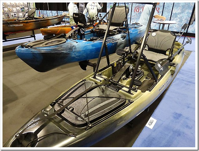 ICAST Orlando 2017 Stand Kayak Native Watercraft