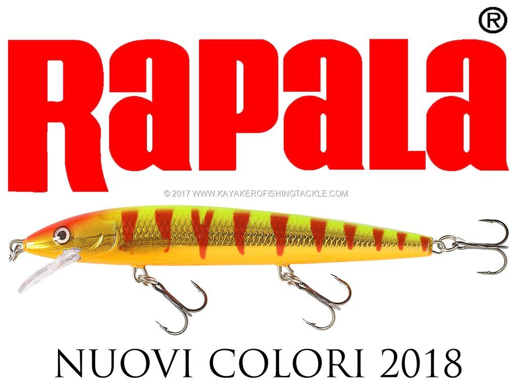 Rapala Nuovi colori 2018