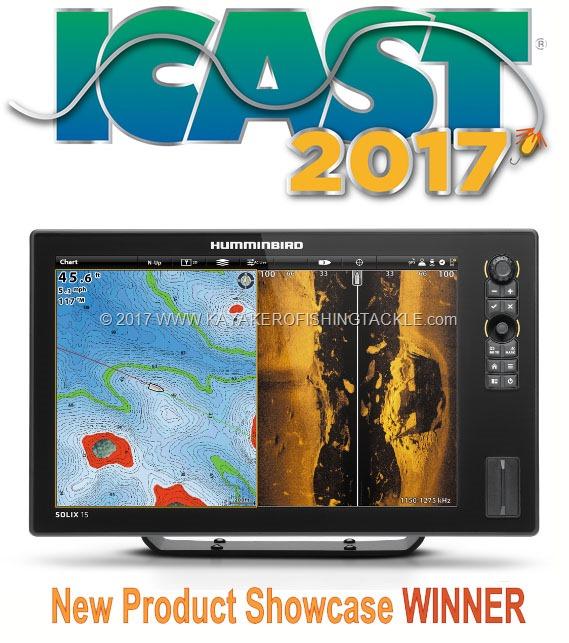 Humminbird Solix 15 winner ICAST 2017