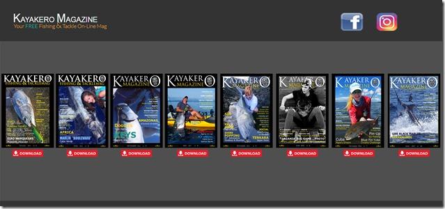 HOME Page fissa Kayakero Magazine