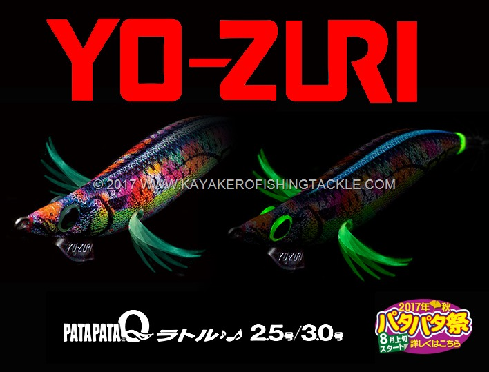 Yo-Zuri Patapata New colors 2017