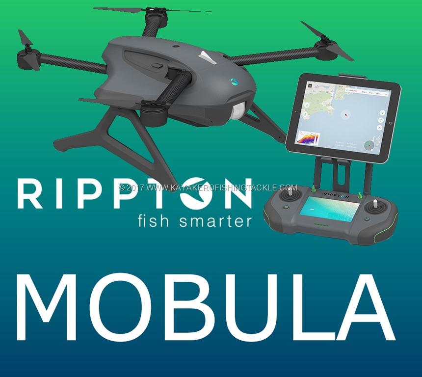 Mobula Rippton drone da pesca