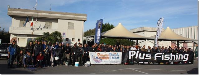 Raduno Sergio Pesca 2017 Torregrande foto di gruppo