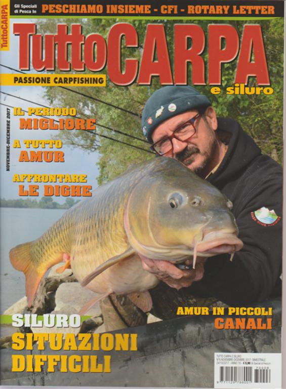 Chiude Tutto Carpa, storica rivista del carpfishing