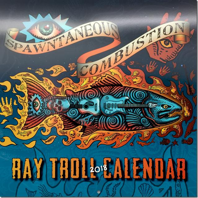 Ray Troll Calendar 2018 1