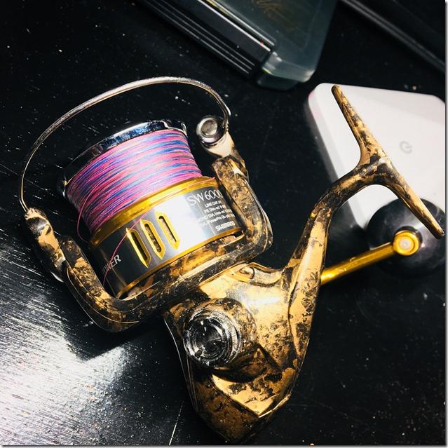 Shimano SW6000XG a stampa idrografica