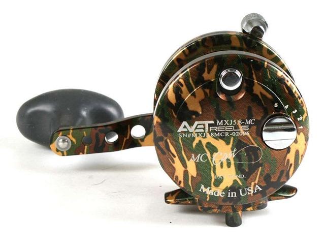 avet-mxj-58-mc-single-speed-lever-drag-casting-reel-camo