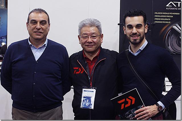 PESCARE-SHOW-2018--Sergio-Pesca-e-presidente-Daiwa-Italy