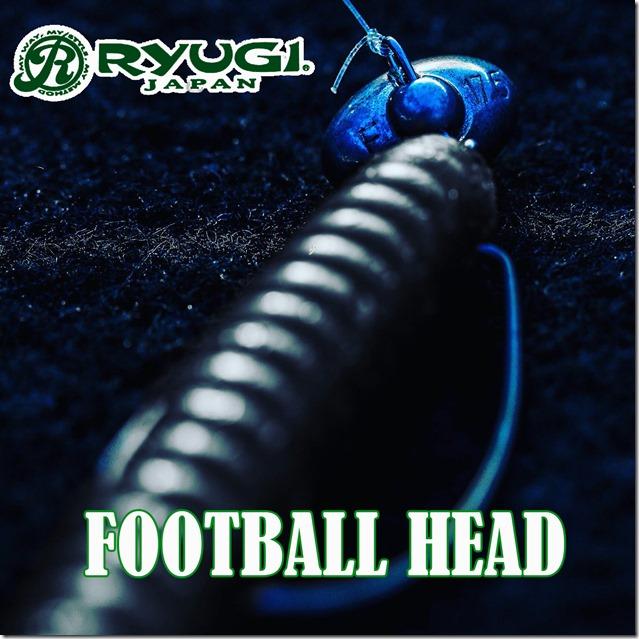 RYUGI FOOTBALL HEAD cover