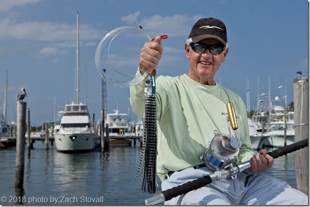 Captain Bart Miller photographed at Sailfish Marina in West Palm, Florida.