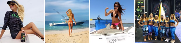 Marketing Bikini anglers
