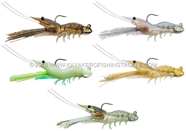 LIVETARGET Fleeing Shrimp c
