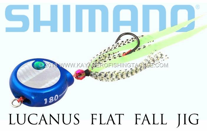 Shimano Lucanus Flat Fall Jig