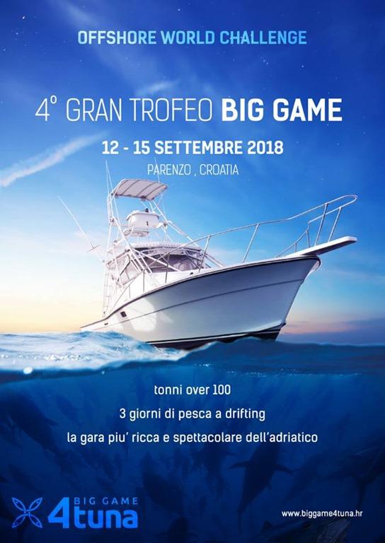 4° Trofeo Big Game 2108 Parenzo