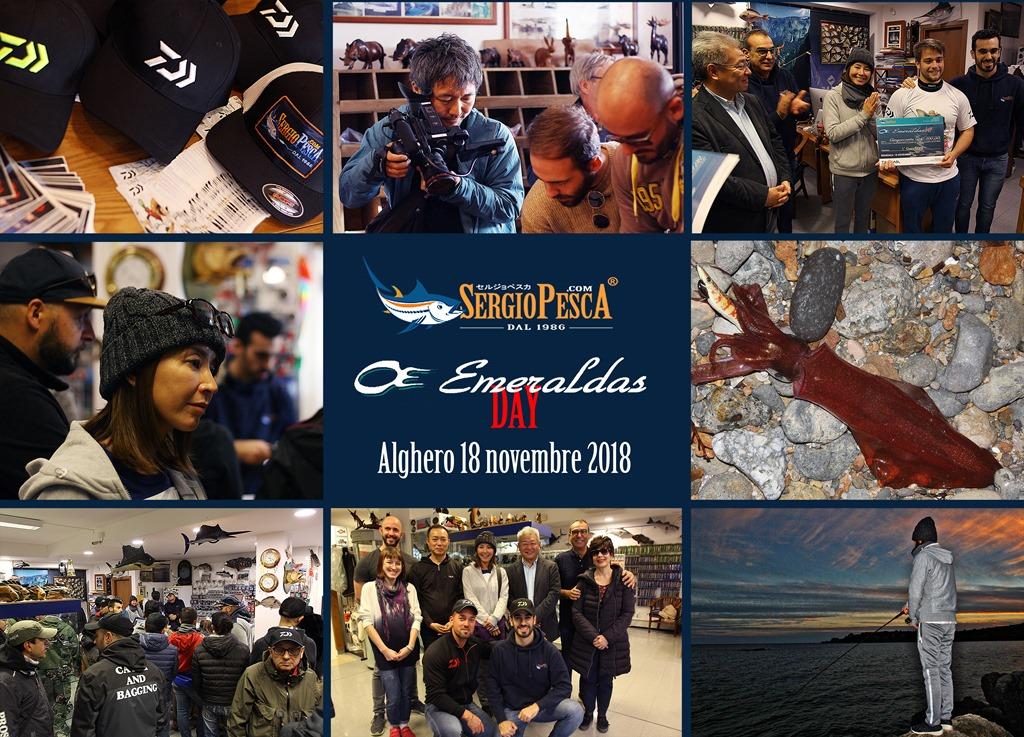Emeraldas Day Sergio Pesca 2018 report