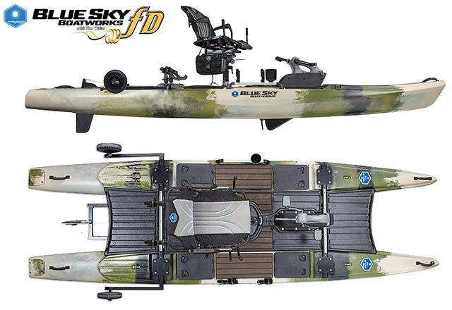 Blue Sky Angler Kayak