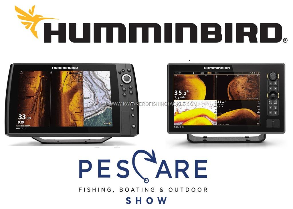 HUMMINBIRD Novità 2019 a Pescare Show