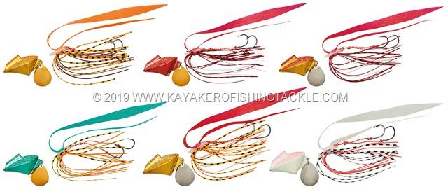 DAIWA Samurai Shore Rubber Free colori