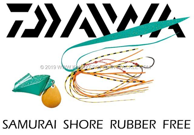 DAIWA Samurai Shore Rubber Free cover