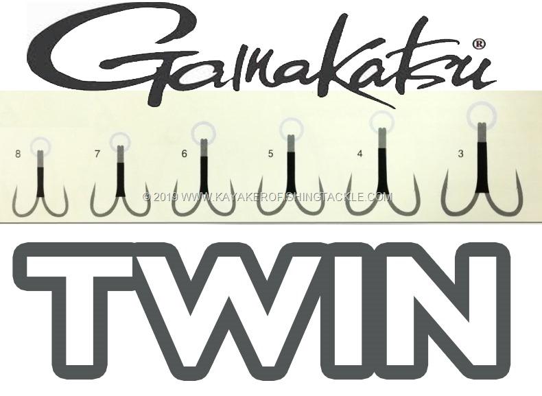 Gamakatsu Twin Hooks