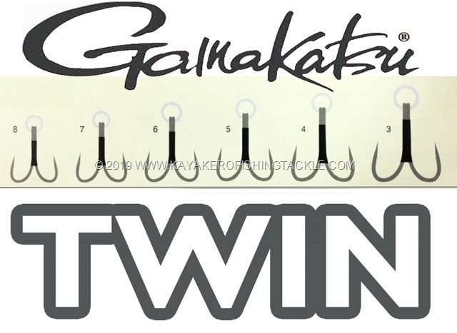 Gamakatsu Twin Hook cover